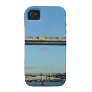 Tower Bridge in London over River Thames iPhone 4 Covers