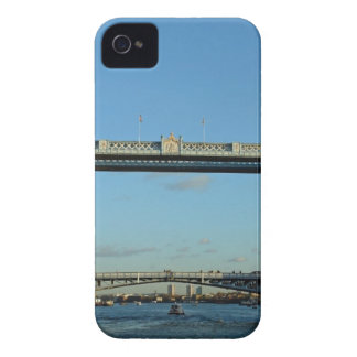 Tower Bridge in London over River Thames iPhone4 Case