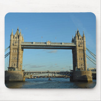 Tower Bridge in London over River Thames Mousepad