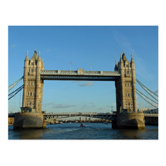 Tower Bridge in London over River Thames Postcards