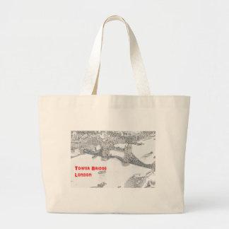 Tower Bridge Large Tote Bag