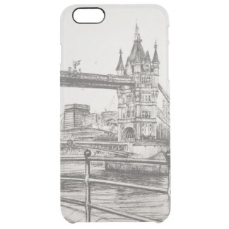 Tower Bridge London 2006 Clear iPhone 6 Plus Case