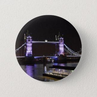 Tower Bridge, London 6 Cm Round Badge