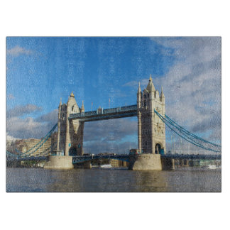 Tower Bridge London. Cutting Board