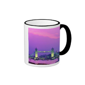 Tower Bridge, London, England 2 Ringer Mug