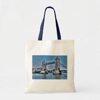 Tower Bridge London, England Art design Budget Tote Bag