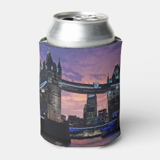 Tower Bridge London England Can Cooler