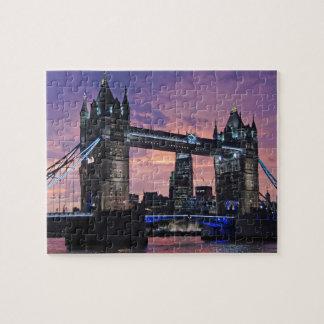 Tower Bridge London England Jigsaw Puzzle