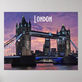 Tower Bridge London England Poster