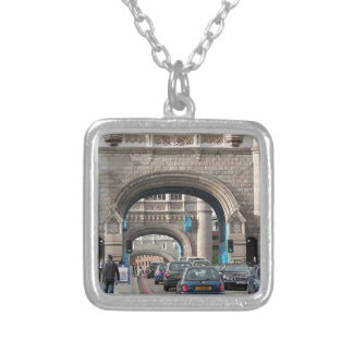Tower Bridge, London, England Silver Plated Necklace