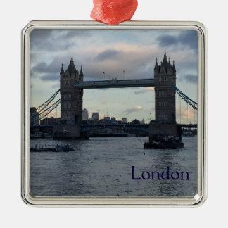 Tower Bridge, London Metal Ornament
