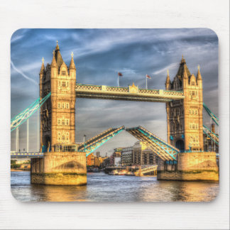 Tower Bridge London opening Mouse Mats