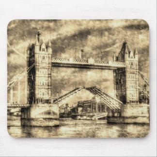 Tower Bridge London opening Mousepads