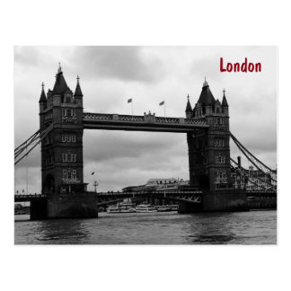 Tower Bridge, London Postcard