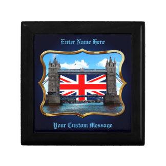 Tower Bridge - London, U.K. Small Square Gift Box