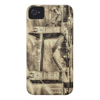 Tower Bridge London Vintage iPhone 4 Cover