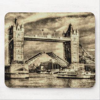 Tower Bridge London Vintage Mousepads