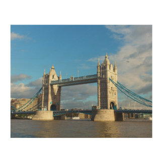 Tower Bridge London. Wood Wall Decor