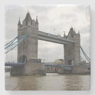 Tower Bridge Marble Coaster Set