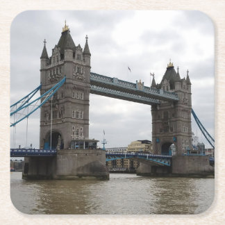 Tower Bridge Paper Coaster Set