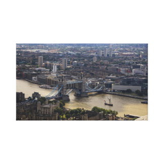 Tower Bridge Photograph Wrapped Canvas