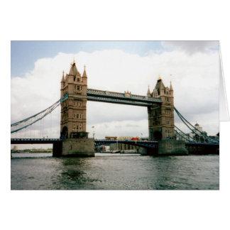 Tower Bridge, Thames River, London Card