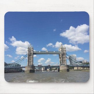 Tower Bridge Thames River London United Kingdom UK Mouse Pad