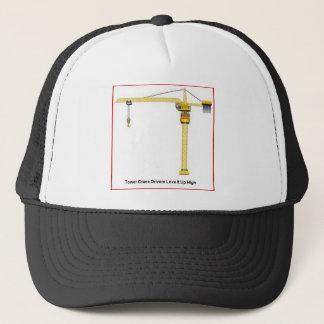 Tower Crane Drivers Up High Trucker Hat