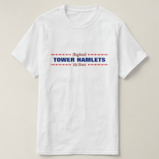 TOWER HAMLETS - My Home - England; Hearts T-Shirt