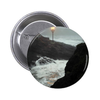 Tower in the Haze Pin