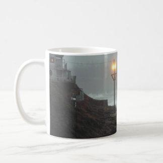 Tower in the Haze Mug