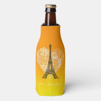 Tower & Inscriptions Paris in Heart