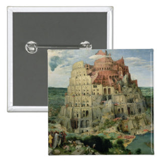 Tower of Babel 15 Cm Square Badge