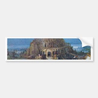 Tower Of Babel By Bruegel D. Ä. Pieter Bumper Stickers