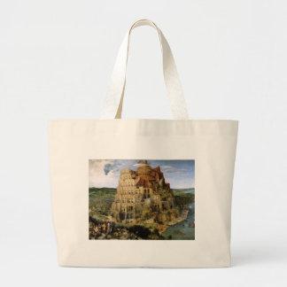 Tower of Babel by Brueghel Jumbo Tote Bag