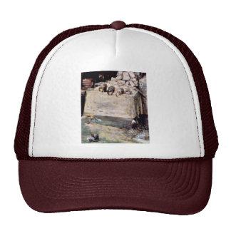 Tower Of Babel, Detail By Bruegel D. Ä. Pieter (Be Trucker Hats