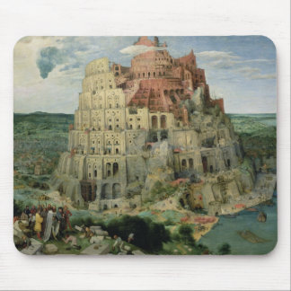 Tower of Babel Mouse Pad