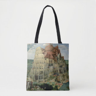 Tower of Babel Tote Bag
