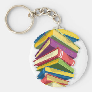 tower of books key ring