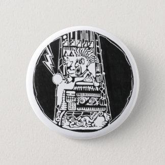 Tower of destruction black - Amazing Mexic Sticker 6 Cm Round Badge