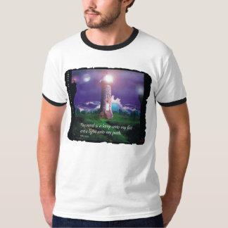 'Tower of Light & Love' Men's Ringer T-Shirt