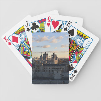 Tower of London Bicycle Playing Cards