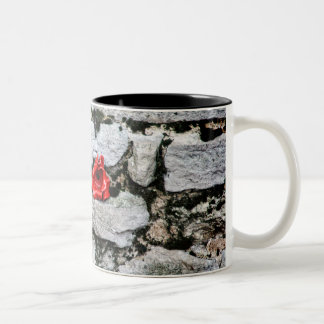 Tower of London clay Poppy on mug