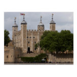 Tower Of London England Seen From Across The River Postcards
