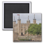 Tower of London - London England Square Magnet