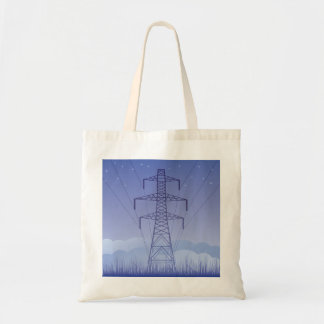 Tower Power Line Tote Bag