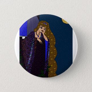 Tower Princess 6 Cm Round Badge