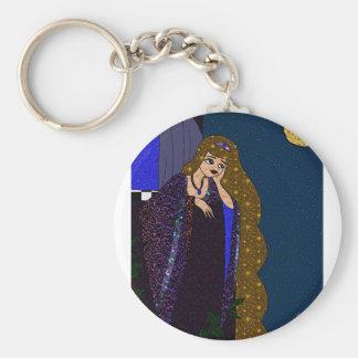 Tower Princess Key Ring
