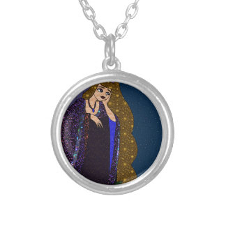 Tower Princess Silver Plated Necklace