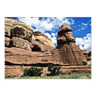 Tower Rock - Canyonlands National Park 13 Cm X 18 Cm Invitation Card